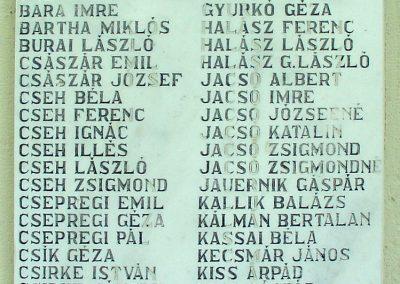 Mezőtárkány világháborús emlékmű 2012.05.19. küldő-Pfaff László, Rétság (2)