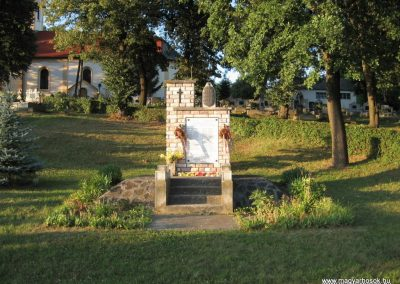 Mihálygerge világháborús emlékmű 2009.07.20. küldő-kalyhas