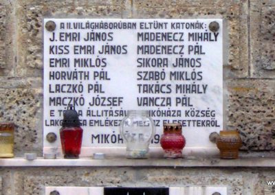 Mikóháza világháborús emlékmű 2007.07.13.küldő-Ágca. (4)