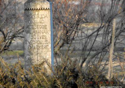 Mikebuda 1952-től önálló település, nincs világháborús emlékműve 2015.02.19. küldő-kalyhas