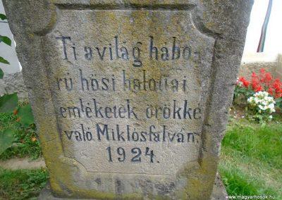 Miklósfalva I. világháborús emlékmű 2015.09.25. küldő-Mónika39 (3)