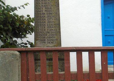Miklósfalva I. világháborús emlékmű 2015.09.25. küldő-Mónika39