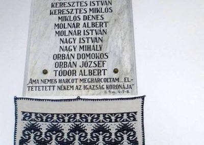 Miklósfalva II. világháborús emléktábla 2015.09.25. küldő-Mónika39 (1)