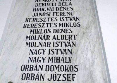 Miklósfalva II. világháborús emléktábla 2015.09.25. küldő-Mónika39 (2)