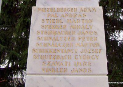 Miklósi világháborús emlékmű 2011.11.01. küldő-Szilsomogy (3)