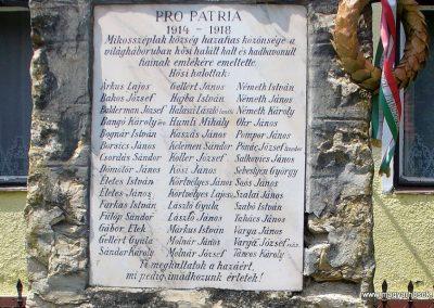 Mikosszéplak világháborús emlékmű 2011.06.18. küldő-HunMi (3)