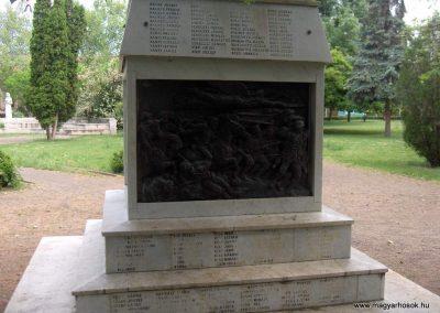 Mindszent Világháborús emlékmű 2008.06.04.Küldő-V3t3r4n. (2)