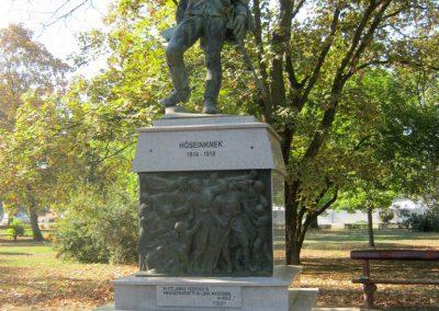 Mindszent felújított I. világháborús emlékmű 2018.09.18. küldő-Bali Emese