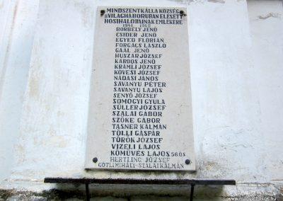 Mindszentkálla világháborús emlékhely 2013.06.25. küldő-kalyhas (7)