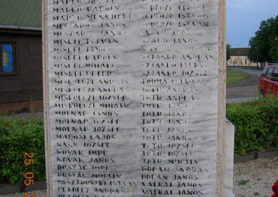 Miske világháborús emlékmű 2007.05.25. küldő-Markó Péter (5)