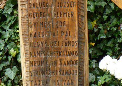 Miskolc - Felsőhámor II. világháborús emlékmű 2009.07.24. küldő-Gombóc Arthur (1)