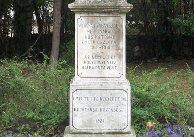 Miskolc - Hejőcsaba I.vh emlékmű 2007.08.12. küldő-Kályhás (2)