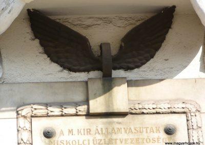 Miskolc I. világháborús Vasutas emlékmű 2009.05.04. küldő-Gombóc Arthur (1)