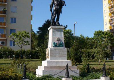 Miskolc I. világháborús tizeshonvéd emlékmű 2009.07.24. küldő-Gombóc Arthur