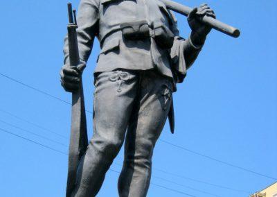 Miskolc I. világháborús tizeshonvéd emlékmű 2015.08.06. küldő-Emese (1)