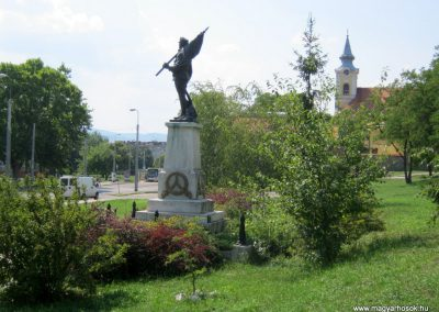 Miskolc I. világháborús tizeshonvéd emlékmű 2015.08.06. küldő-Emese (5)