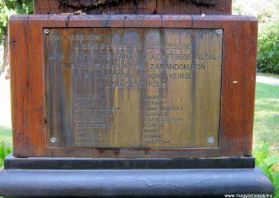 Miskolc II. világháborús kopjafa a Doni hősök emlékére 2015.08.03. küldő-Emese (1)