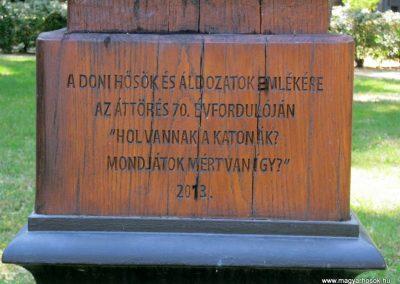 Miskolc II. világháborús kopjafa a Doni hősök emlékére 2015.08.03. küldő-Emese (4)
