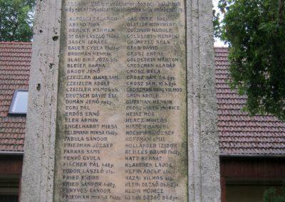 Miskolc neológ zsinagóga világháborús emlékmű 2015.08.03. küldő-Emese (1)