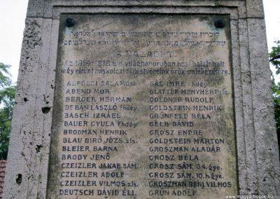 Miskolc neológ zsinagóga világháborús emlékmű 2015.08.03. küldő-Emese (2)