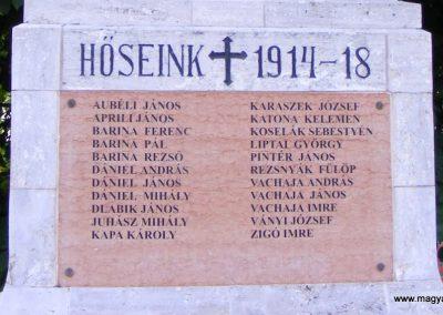 Mogyorósbánya I. világháborús emlékmű 2013.05.26. küldő-Méri (2)