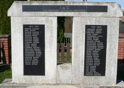 Molnári világháborús emlékmű 2013.10.17. küldő-Sümec (2)