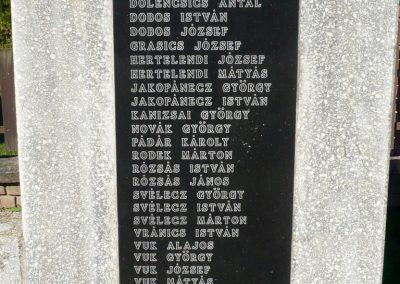 Molnári világháborús emlékmű 2013.10.17. küldő-Sümec (7)