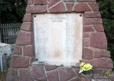 Monostorapáti világháborús emlékmű 2013.08.22. küldő-kalyhas (2)
