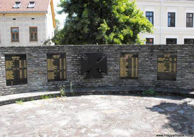 Közös világháborús emlékmű Mogyorókeréken (Eberau)