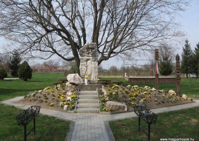 Mosdós világháborús emlékmű 2009.04.05. küldő-kalyhas