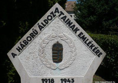 Muraszemenye - Csernec világháborús emlékmű 2012.07.10. küldő-Sümec (2)