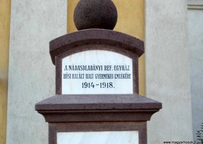 Nádasdladány I. világháborús emlékmű 2015.06.21. küldő-Méri (2)