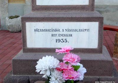 Nádasdladány I. világháborús emlékmű 2015.06.21. küldő-Méri (4)