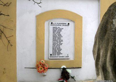 Nógrádsáp II.vh emléktábla 2010.01.26. küldő-kalyhas (3)