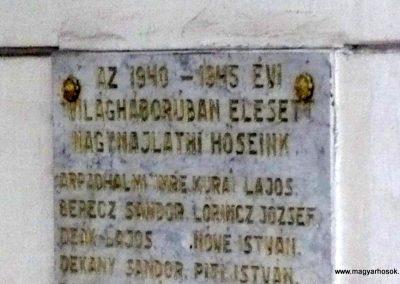 Nagyér - egykor Nagymajláth - világháborús emléktáblák 2013.06.15. küldő-Sümec (7)