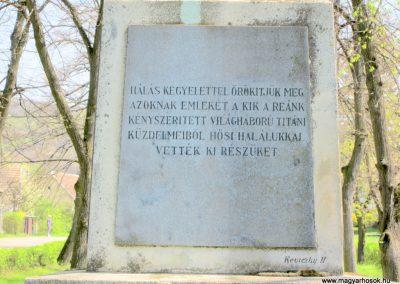 Nagybörzsöny I. világháborús emlékmű 2013.04.21. küldő-kalyhas (3)