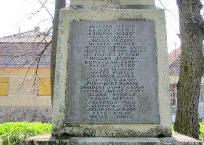 Nagybörzsöny I. világháborús emlékmű 2013.04.21. küldő-kalyhas (5)