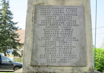 Nagybörzsöny I. világháborús emlékmű 2013.04.21. küldő-kalyhas (7)