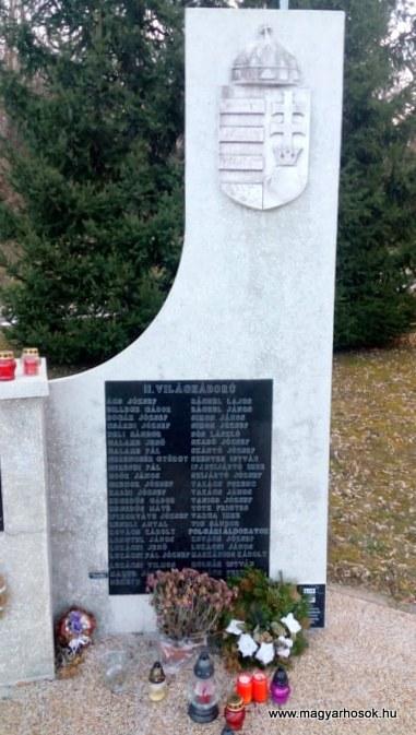 Nagybakónak világháborús emlékmű 2019.02.21. küldő-Kulik Gergely (8)