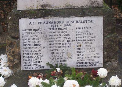 Nagycenk világháborús emlékmű 2009.11.15. küldő-Horváth Zsolt (5)