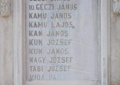 Nagycsány világháborús emlékmű 2009.05.23.küldő-Horváth Zsolt (5)