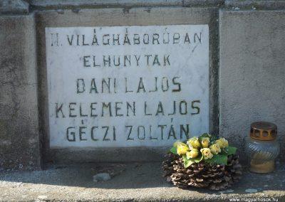 Nagycsány világháborús emlékmű 2009.05.23.küldő-Horváth Zsolt (6)