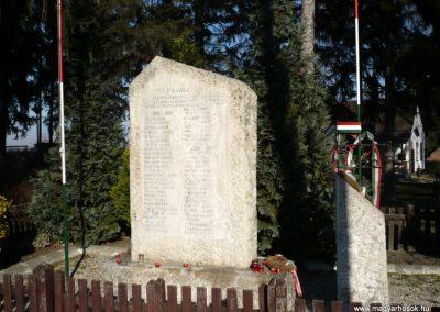Nagycsepely világháborús emlékmű 2011.02.05. küldő-Sümec (1)