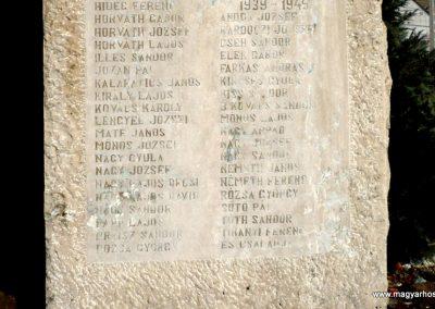 Nagycsepely világháborús emlékmű 2011.02.05. küldő-Sümec (3)