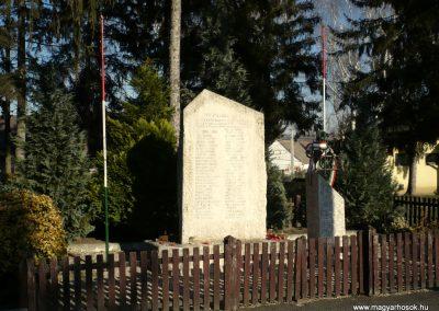 Nagycsepely világháborús emlékmű 2011.02.05. küldő-Sümec