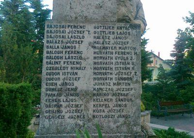 Nagyigmánd I.vh emlékmű 2011.05.29. küldő-Csiszár Lehel (12)