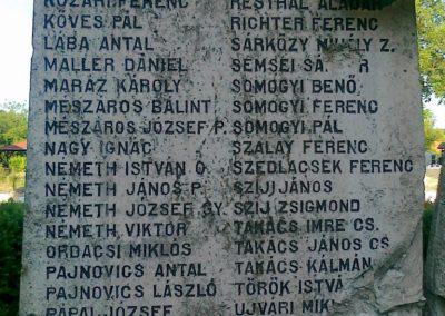 Nagyigmánd I.vh emlékmű 2011.05.29. küldő-Csiszár Lehel (13)