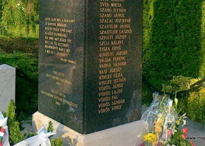 Nagyigmánd II.vh emlékmű 2011.05.29. küldő-Csiszár Lehel (10)
