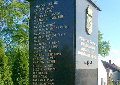 Nagyigmánd II.vh emlékmű 2011.05.29. küldő-Csiszár Lehel (5)