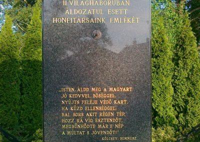 Nagyigmánd II.vh emlékmű 2011.05.29. küldő-Csiszár Lehel (7)